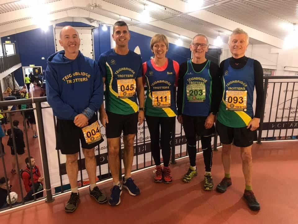 trotters show off the new kit before the portland coastal marathon.jpg