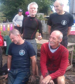 4 trotters at mud run - derek skinner, neil rutley, nigel barnett and roger hales.jpg