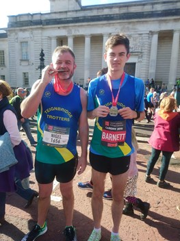 nigel and jamie barnett at cardiff half marathon.jpeg