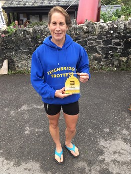 tracey elphick after finishing 3rd female in 3 in one.jpeg