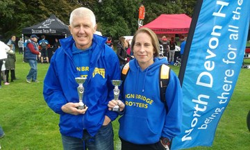 tracey and alan proudly showing off their silverware..jpg