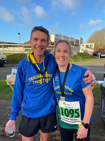 emma ray and james saunders after completing january jaunt 10k.jpeg