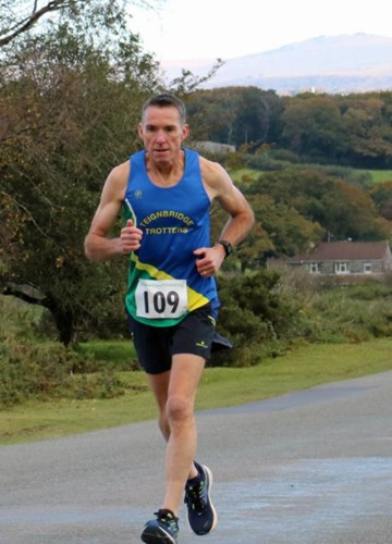 james saunders on his way to victory in the plym trail half marathon.jpg