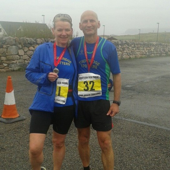 sally and lance at cape wrath marathon.jpg