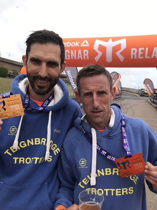 andrew fox and christian robinson having completed the ragnar.jpeg